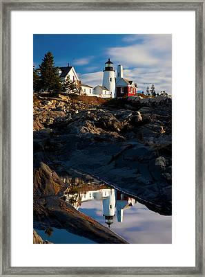 Early Morning On The Rocks Framed Print by Brian Jannsen
