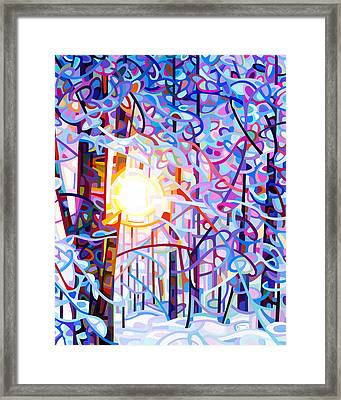 Early Riser Framed Print by Mandy Budan