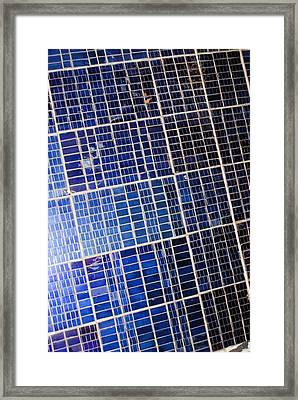 Early Spacecraft Solar Array Panel Framed Print by Science Photo Library