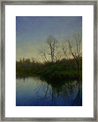 Early Spring Framed Print by Wayne Daniels