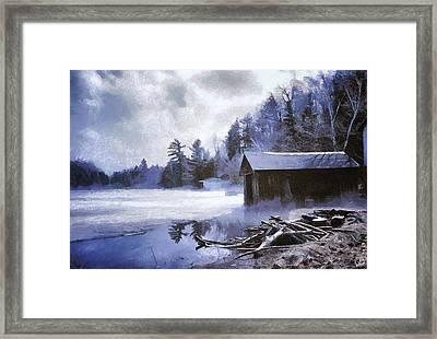 Early Winter Morning Framed Print by Gun Legler