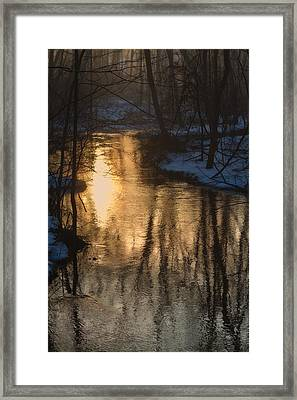 Early Winter Morning Framed Print by Karol Livote