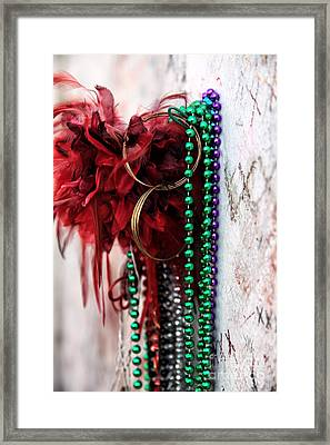 Earrings For Marie Framed Print by John Rizzuto