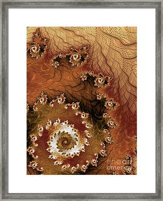 Earth Rhythms Framed Print by Heidi Smith