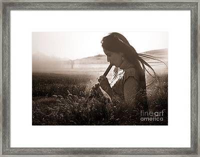 Earth Song Framed Print by Sharon Irla