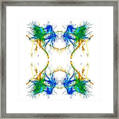 Earth Vibe Framed Print by Lyndsey Warren