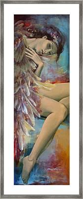Earthly Feelings Framed Print by Dorina  Costras