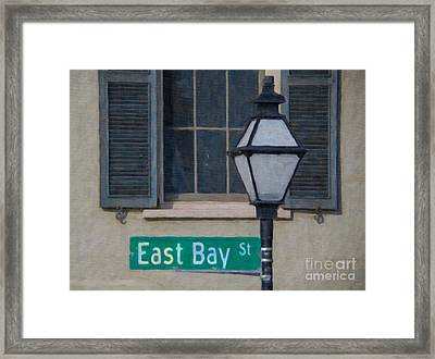 East Bay Street Framed Print by Dale Powell