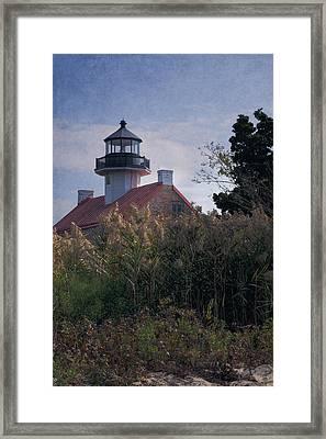 East Point Lighthouse Framed Print by Joan Carroll