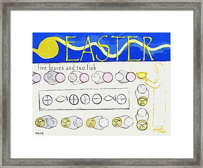 Easter 17 Framed Print by Patrick J Murphy
