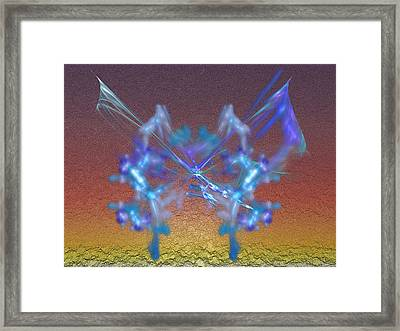 Easter Butterfly Framed Print by Jeff Iverson