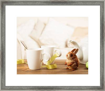 Easter Drinks Framed Print by Amanda And Christopher Elwell
