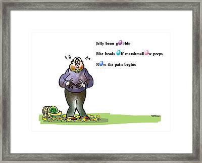 Easter Haiku Framed Print by Mark Armstrong