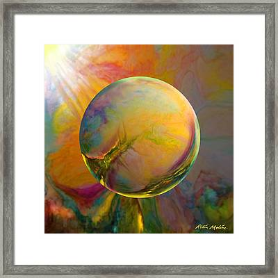 Easter Orb Framed Print by Robin Moline
