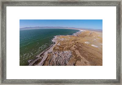 Eastern Side Of Mono Lake Framed Print by David Levy