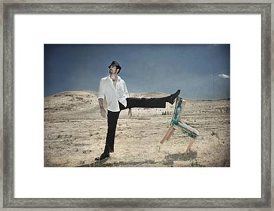 Easy Breezy Cool Framed Print by Laurie Search