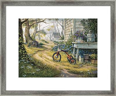 Easy Rider Framed Print by Michael Humphries