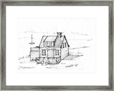 Eatons Residence Framed Print by Richard Wambach