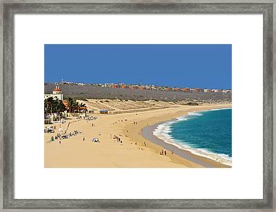 Beautiful Baja Beaches Framed Print by Christine Till