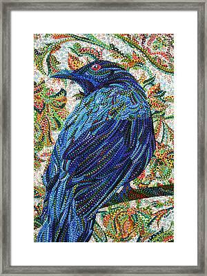 Eavesdropping Framed Print by Erika Pochybova