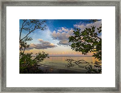 Ebb And Flow Framed Print by Marvin Spates