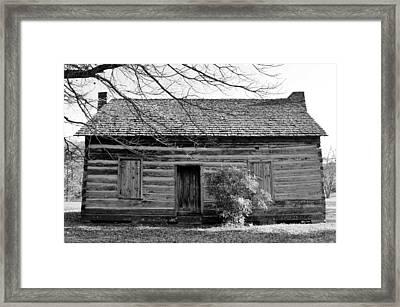 Ebenezer Academy  Framed Print by Cynthia Guinn