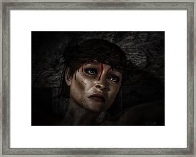 Ecce Femina Framed Print by Ramon Martinez