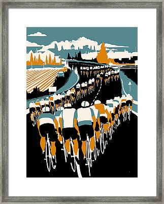 Echelon Framed Print by Eliza Southwood