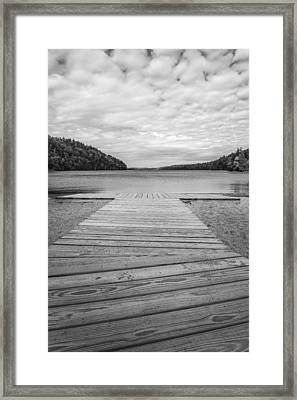 Echo Lake Framed Print by Kristopher Schoenleber