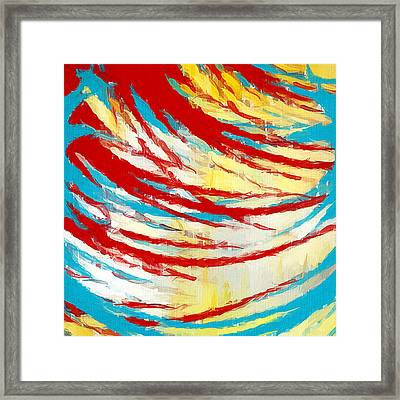 Eclectic Rays  Framed Print by Lourry Legarde
