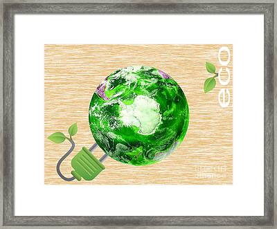 Eco Collection Framed Print by Marvin Blaine