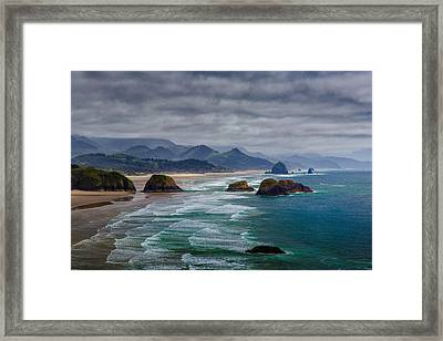 Ecola Viewpoint Framed Print by Rick Berk