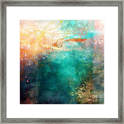 Ecstatic Variant 1 Framed Print by Aimee Stewart