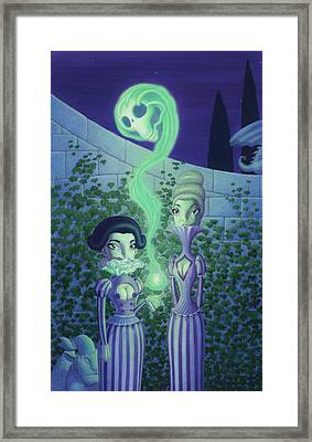 Ectoplasm Framed Print by Richard Moore