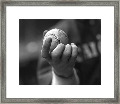 Eddie Cicotte Framed Print by Retro Images Archive