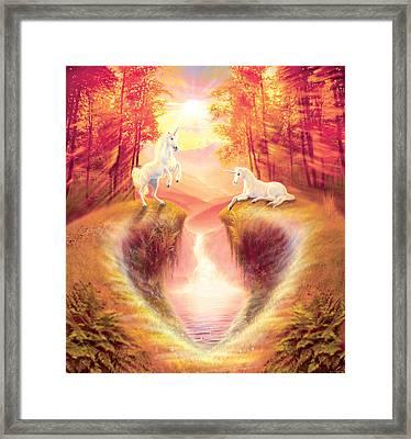 Eden Framed Print by Andrew Farley
