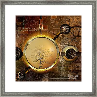 Eden Is Lost Framed Print by Franziskus Pfleghart