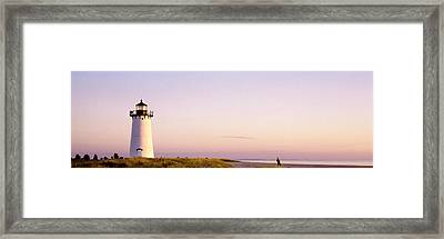 Edgartown Lighthouse, Marthas Vineyard Framed Print by Panoramic Images