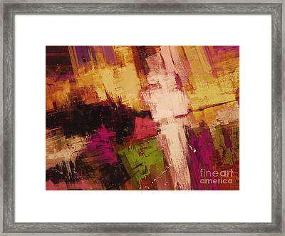 Edge Framed Print by Keith Mills
