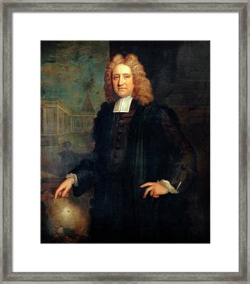 Edmond Halley Framed Print by Bodleian Museum/oxford University Images