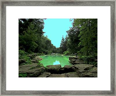 Edsel And Eleanor Ford House Framed Print by Michael Rucker
