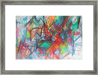 Education 2 Framed Print by David Baruch Wolk