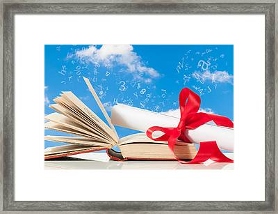 Education Framed Print by Amanda Elwell