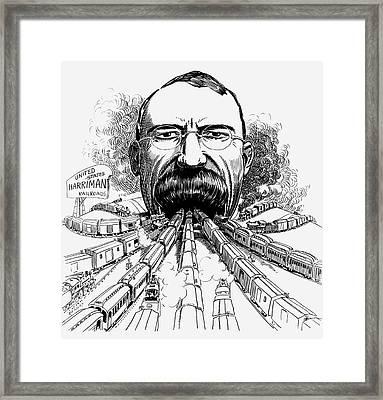 Edward Henry Harriman (1848-1909) Framed Print by Granger
