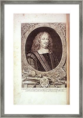 Edward Hyde Framed Print by British Library