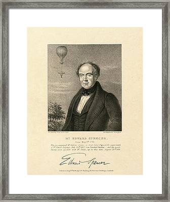 Edward Spencer Framed Print by Library Of Congress
