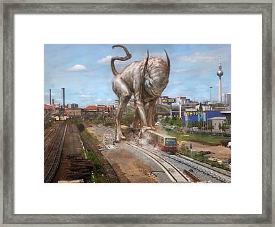Eeek Berlin Framed Print by Ethan Harris