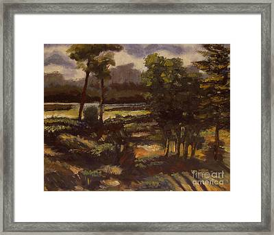 Eel Abated Framed Print by Charlie Spear