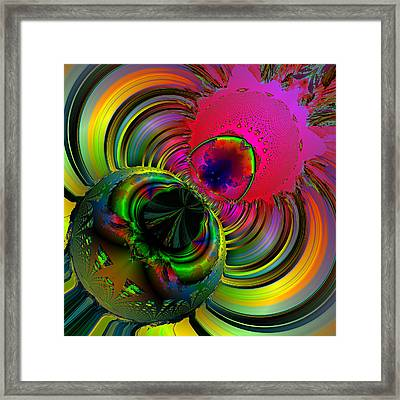 Eetsy Weetsy Spider Ocf 67 Framed Print by Claude McCoy