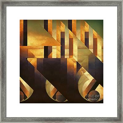 Effective Fragments Framed Print by Lonnie Christopher